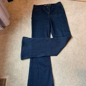 Old Navy high rise tall flare jeans